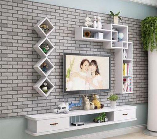 Kệ tivi hiện đại thông minh treo tường Deco TV74