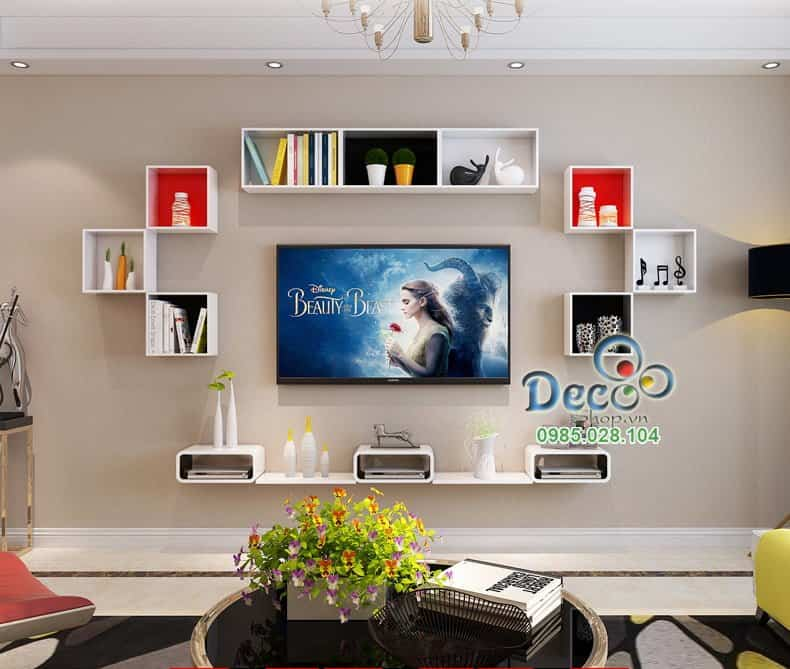 Kệ Tivi treo tường Deco TV84